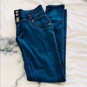 Size 9 High Waist Blue Jegging